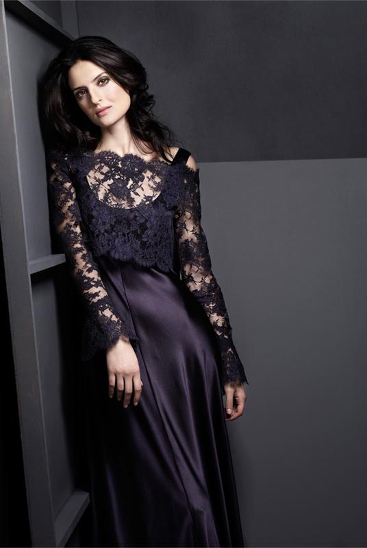 black lace wedding dress gown wedding inspiration