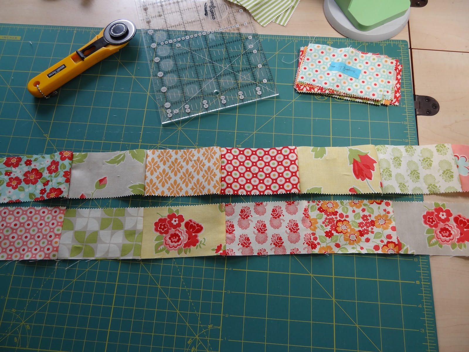 Pieced Quilt Borders