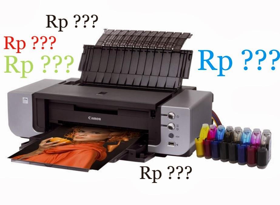 Daftar Harga Printer Canon Berbagai Tipe