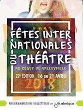 Collège de Valleyfield/ Les 22e Fêtes internationales du Théâtre 2018