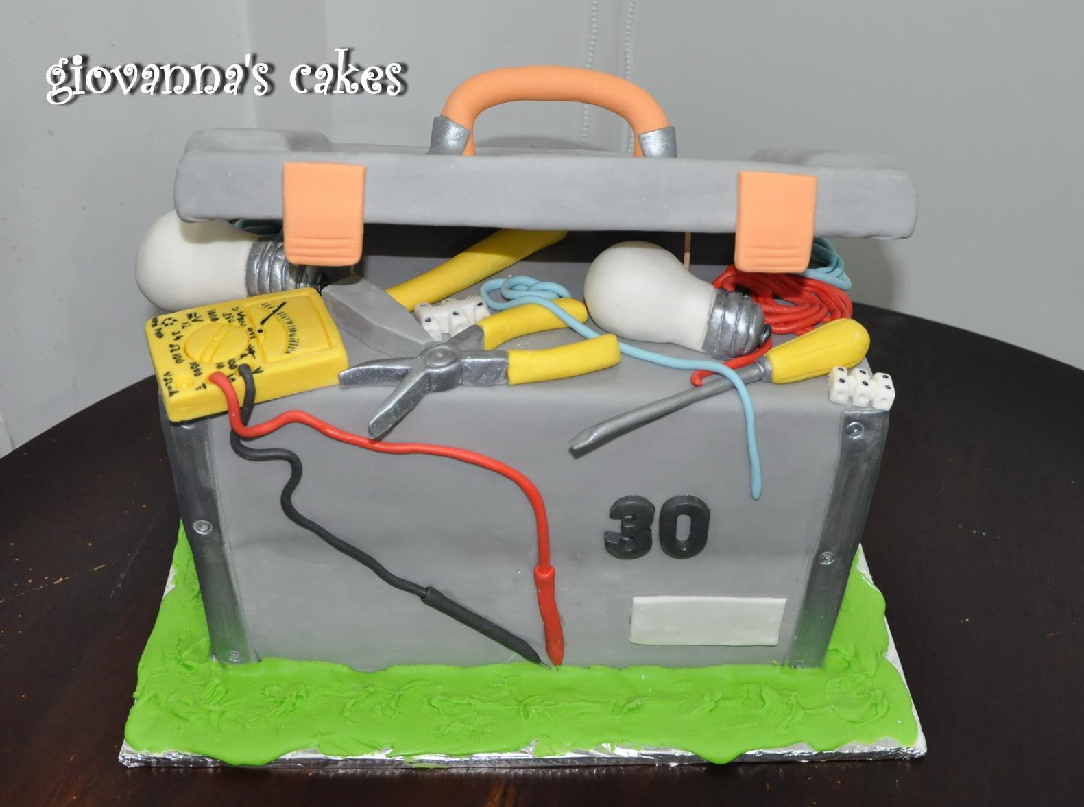 Торт для электрика своими руками 70