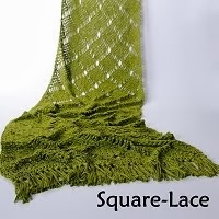 Square-Lace - haakpatroon