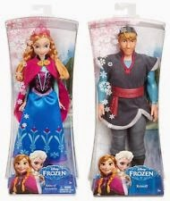 Frozen Sparkle Dolls