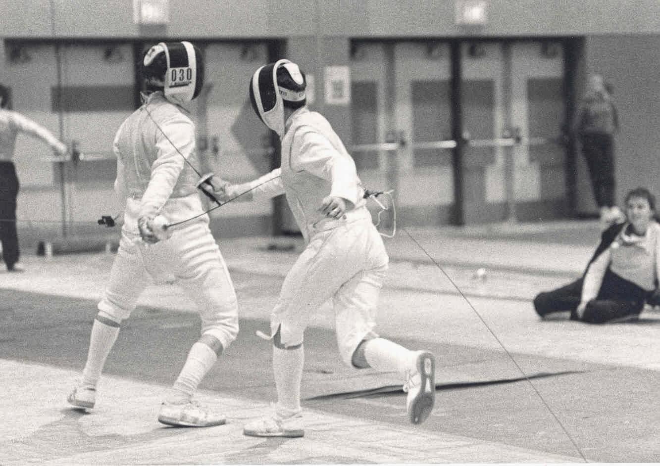 Steve Lazar ubc fencing club: club history
