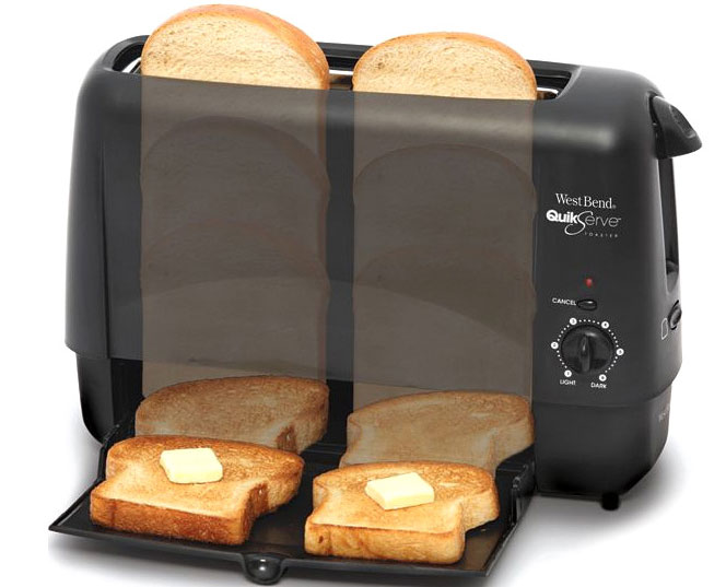 Toast In Toaster ~ Kitchen appliance bread toasters basic home improvement