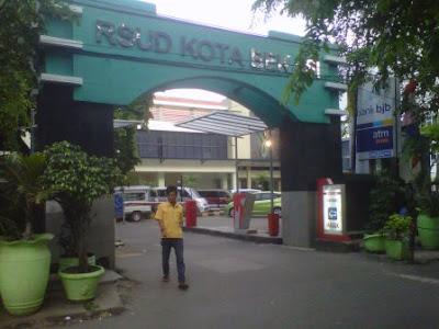 gerbang rsud kota bekasi