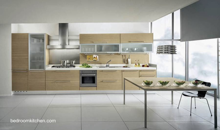 Modelo de diseño de cocina con muebles contemporáneos