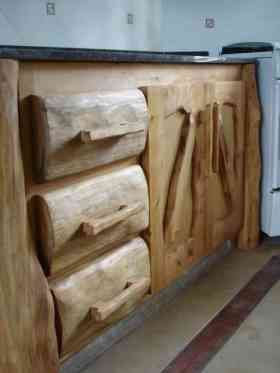 Decoracion de interiores estilo rustico cocina - Muebles cocina rusticos madera ...