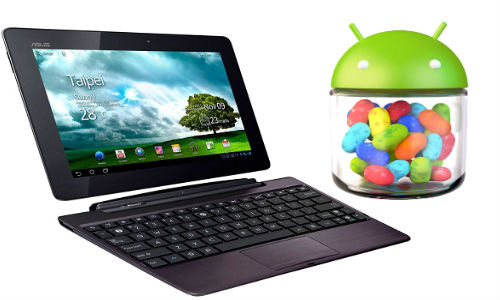 Ufficiale android 4.1.1 Jelly Bean sui tablet Transformer Prime, Pad 300 e Prime
