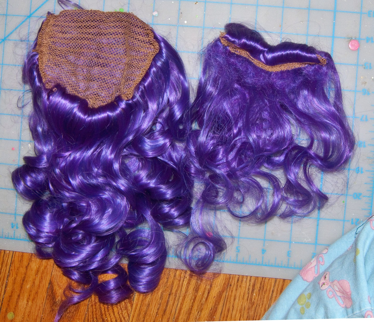 how to make a wig into a ponytail