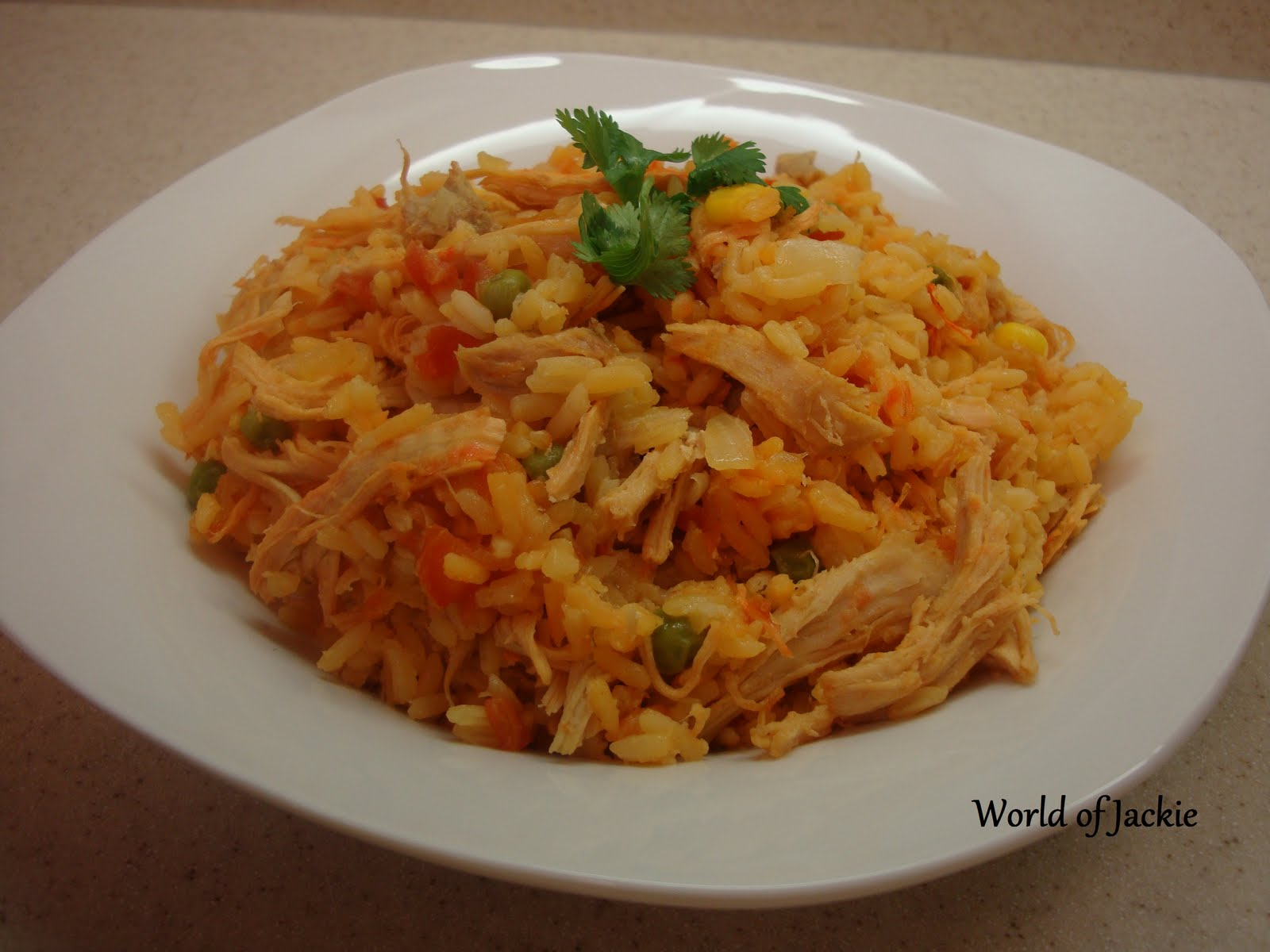 World of Jackie Designs: Arroz con Pollo Colombiano ( Colombian Style ...