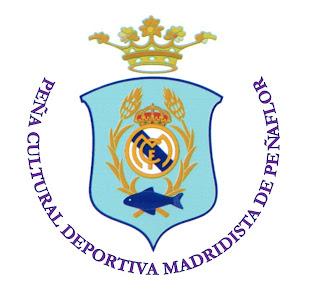 Escudo de la Peña Cultural y Deportiva Madridista de Peñaflor