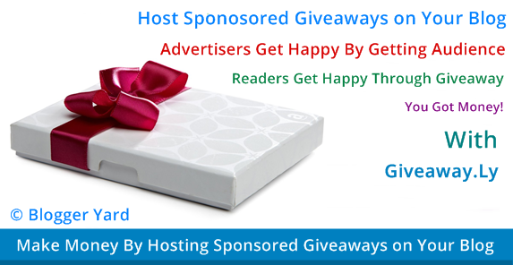 Earn Money By Hosting Giveaways on Your Blog