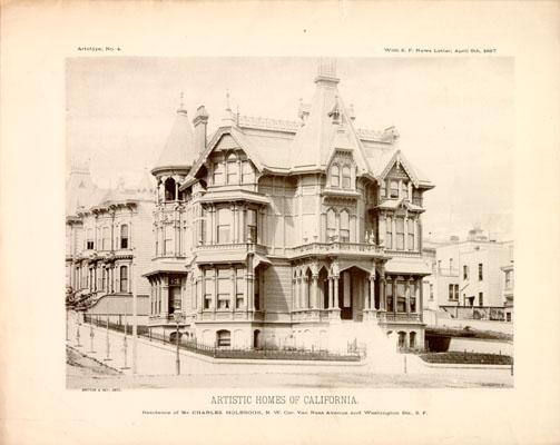 San Francisco Van Ness Ave 1889 Victorian House Restoration