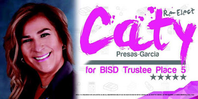 VOTE CATY FOR BISD BOARD