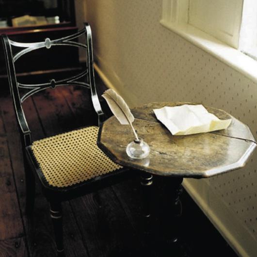 Foto del tavolino di Jane Austen