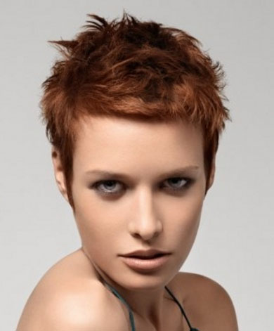 Super-Short Hair Style 2014