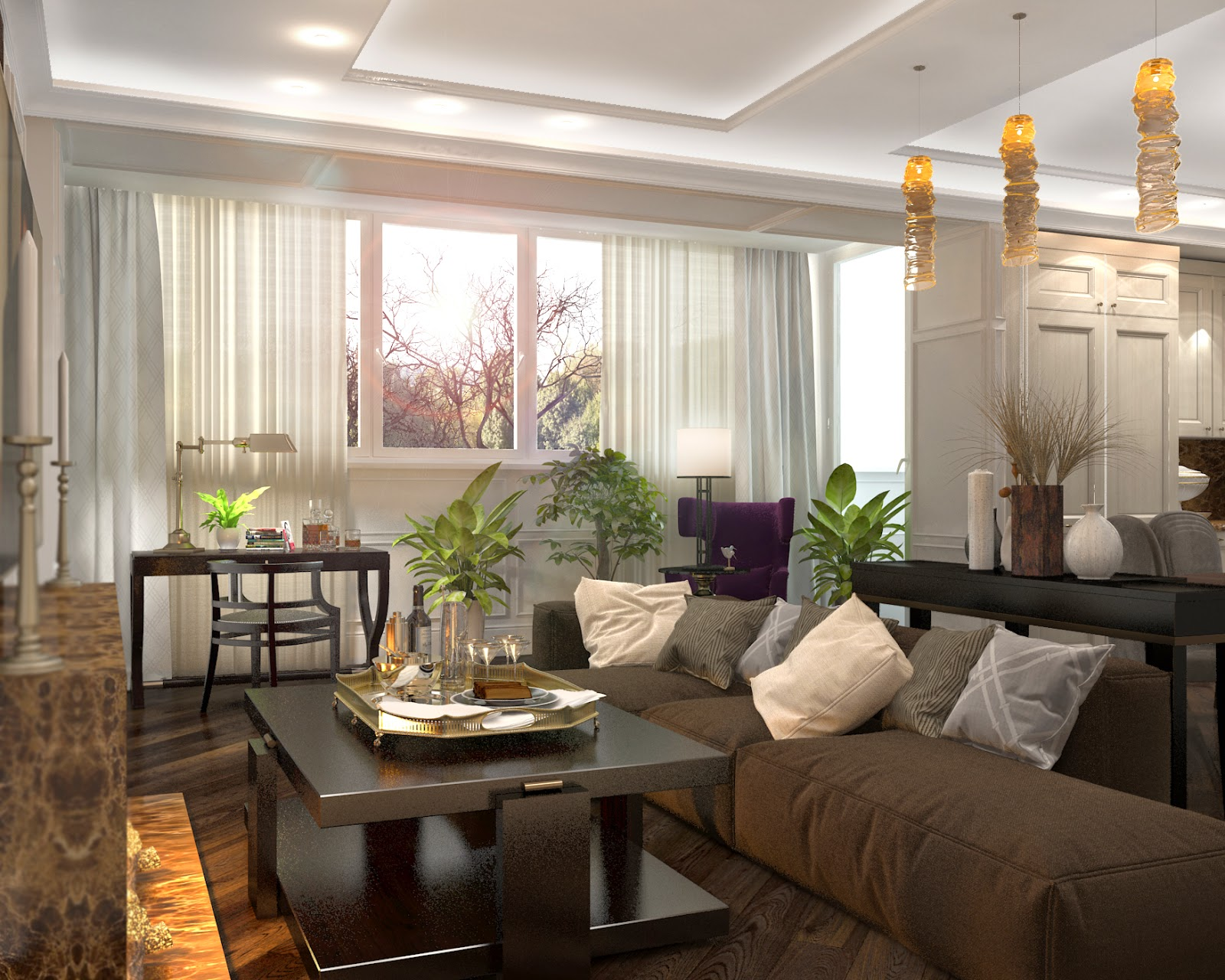 Darya girina interior design march 2015 - Bedroom