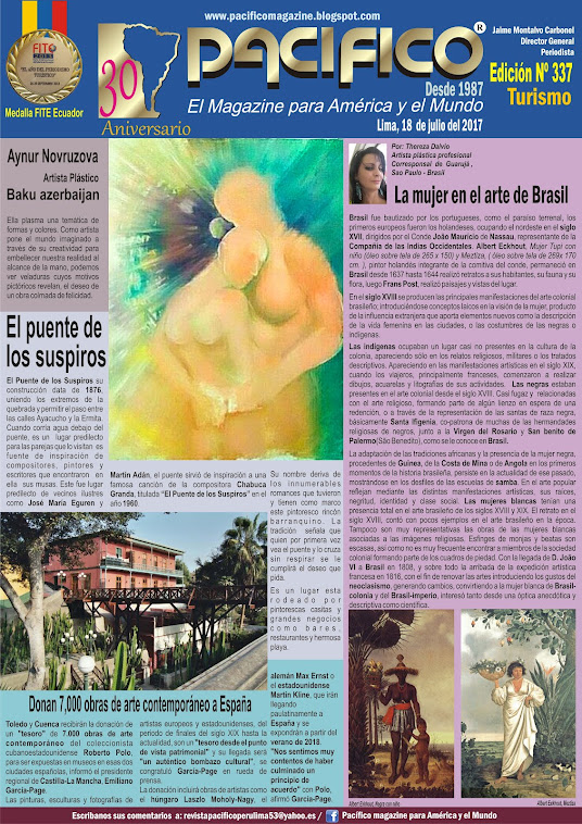 Revista Pacífico Nº 337 Turismo