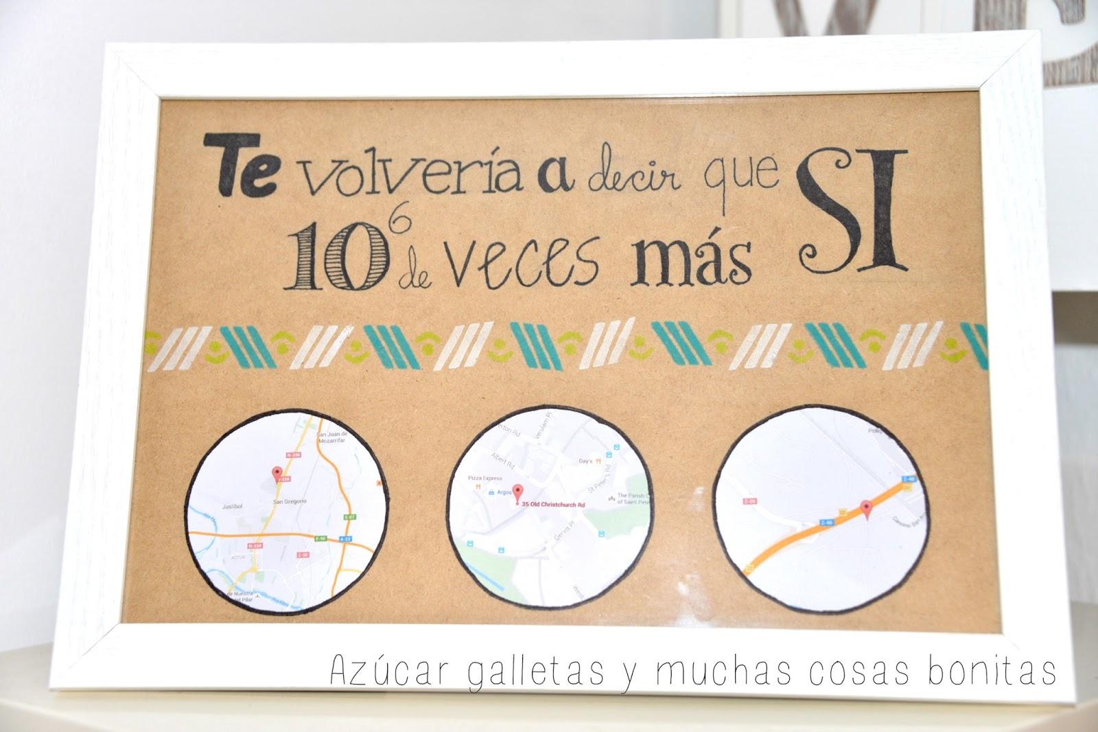 Es sencillo y bonito, aunque hay que reconocer que lo único de papel son los mapas, pero vamos que sólo es una pequeña trampa!