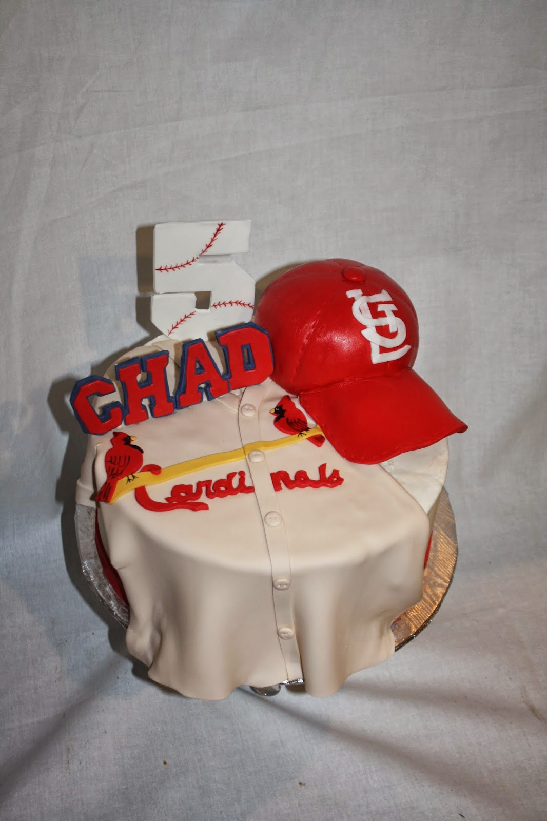 Hock Cakes Llc St Louis Cardinals Birthday Cake