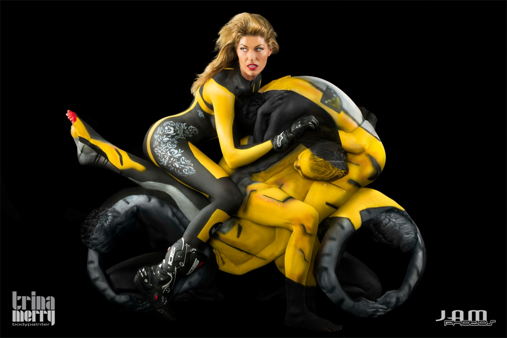 Illimoto erin bates body paint for Autobahn body and paint