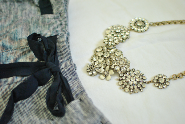j.crew-inspired flower lattice necklace