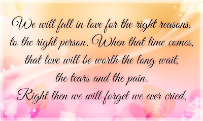 love will be worth the long wait