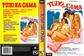 TUDO NA CAMA - CINEMA NACIONAL -  FILME RARO