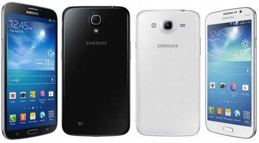 SAmsung Galaxy Mega 5.8 and 6.3 amazing specs