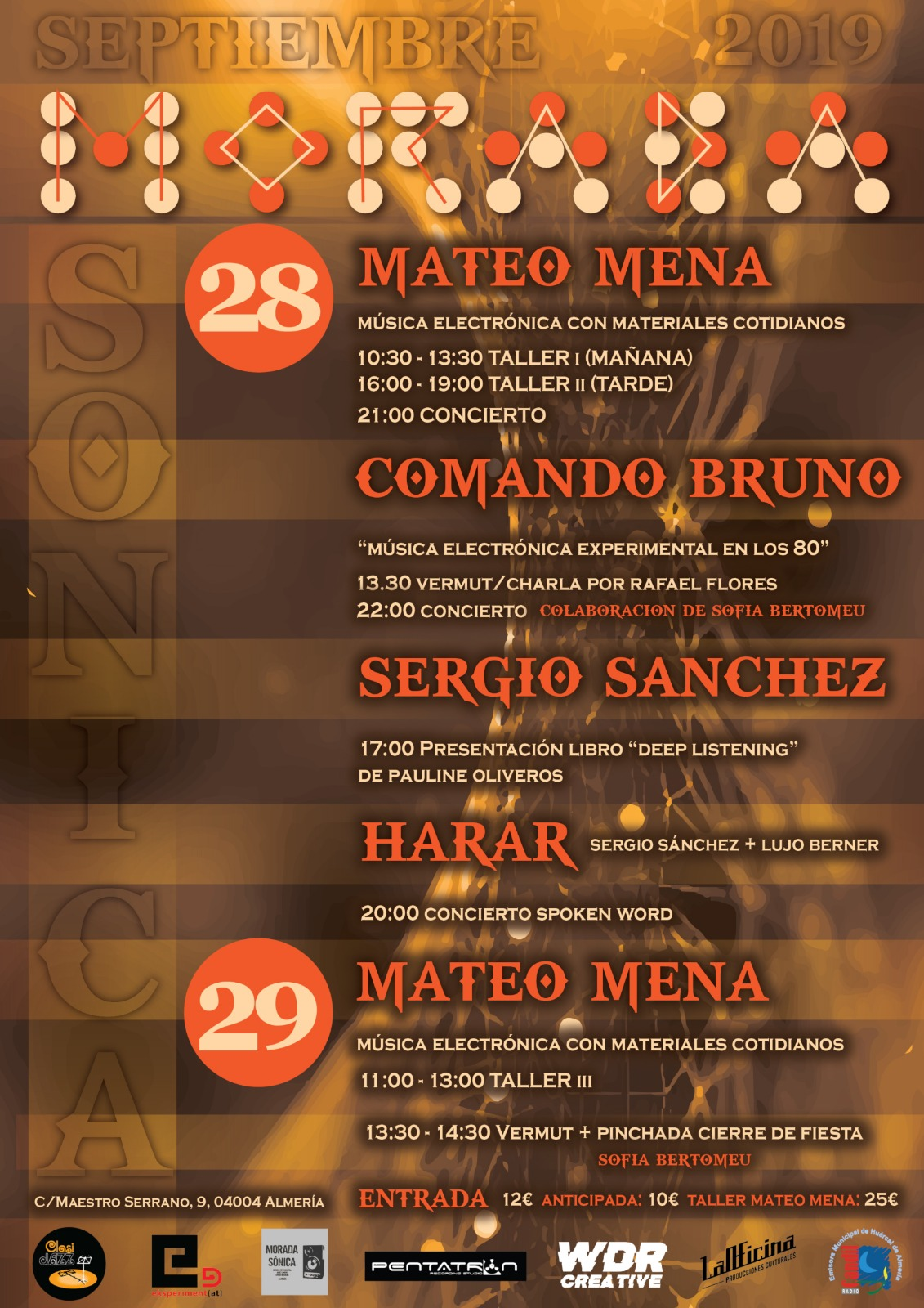 FESTIVAL MORADA SÓNICA OTOÑO 2019
