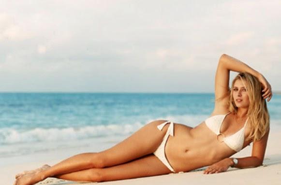 Maria Sarakova hot bikini