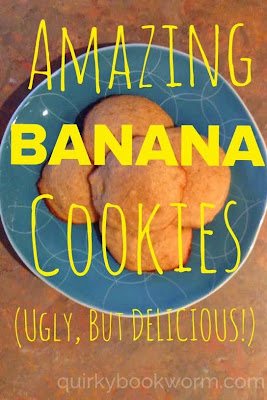 Amazing Banana Cookies! Soft and tender in the middle, and a little bit crispy around the edges; basically like banana bread, but magically fluffier.