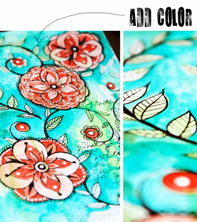 alisa burke inspirujace i piękne ilustracje handmade na Eco Manufaktura