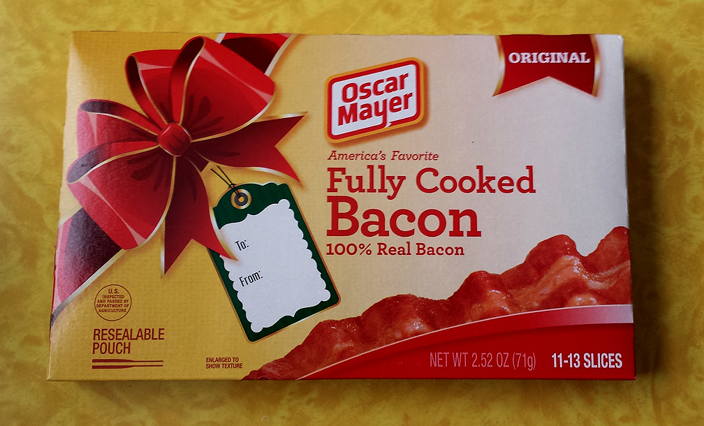 130633 Boar S Head Naturally Smoked Sliced Bacon 16 Oz further Kaaswinkel Poppenhuis as well Its Most Bacony Time Of Year as well Cracked Out Corn Dip Football Friday further Oscar Mayer Printable Coupons Facebook Offer. on oscar meyer bacon package