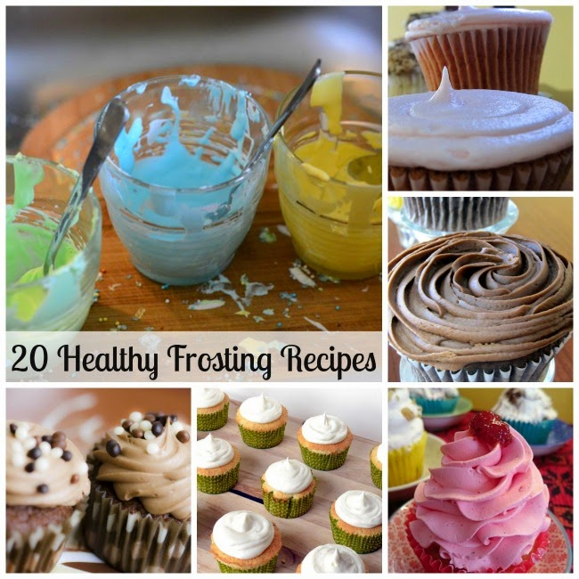 Healthy Frosting Recipes | Becky Cooks Lightly #frostingrecipe
