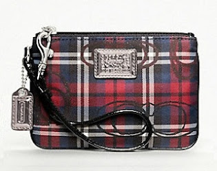 Ready Stock Coach Wristlet 46572 Multicolor