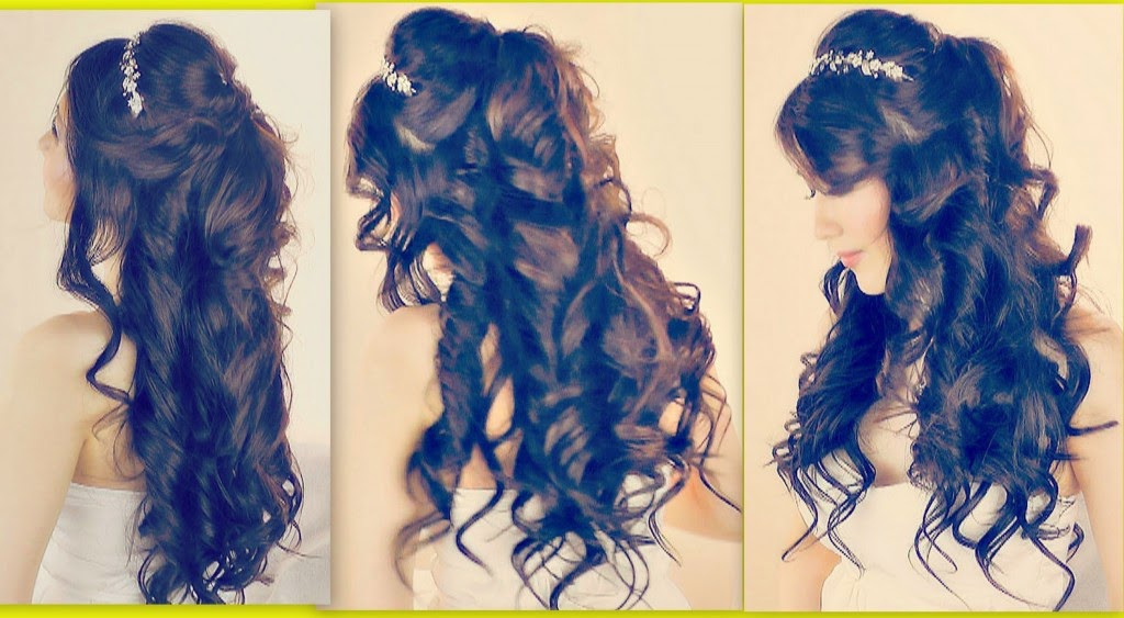 Hairstyle Images Half Up Half Down Prom Hairstyles Fairy