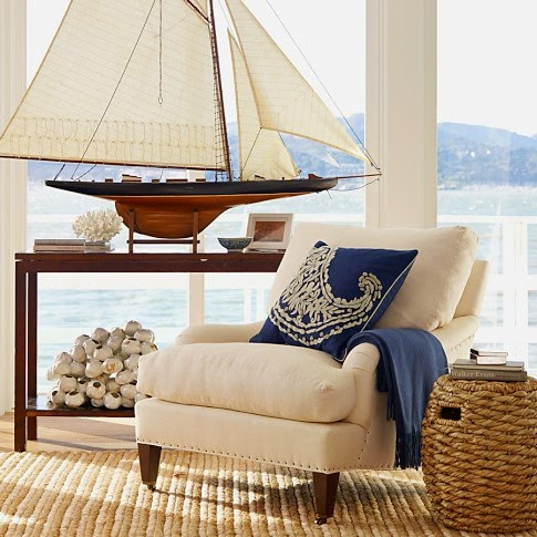 Sailing Boat Decorating Idea