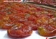 resep praktis dan mudah membuat manisan tomat spesial enak, legit, nikmat