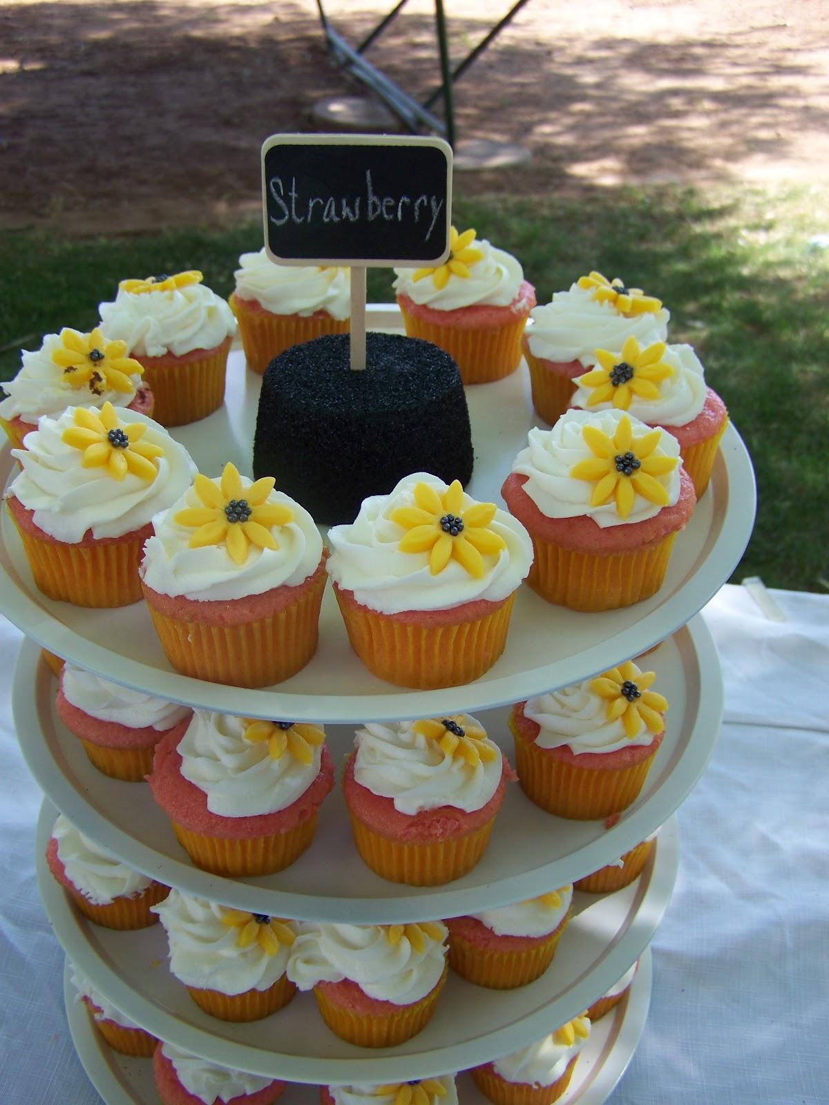 Cake A Licious Sunflower & Burlap Wedding Cake