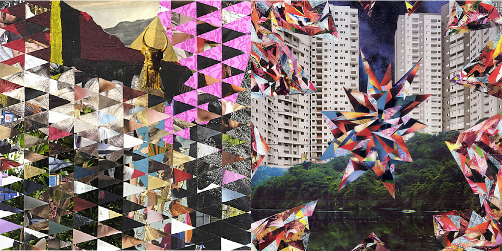 Planet Earth on Acid: COLLAGES// MARCO MIGANI