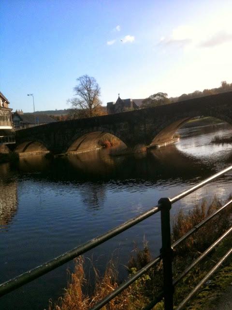 Stramongate Bridge, River Kent, Kendal