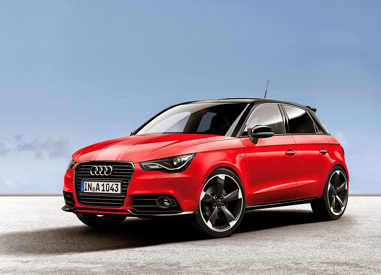 Audi A1 Amplified 2012 Full-screen Wallpaper