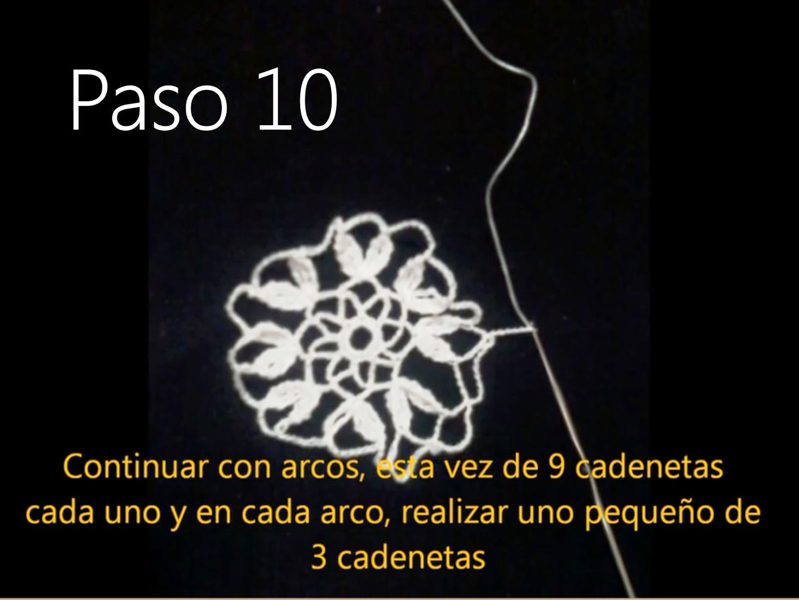 Tapete Flor Paso 10