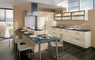 Cream Kitchen Cabinets Picture