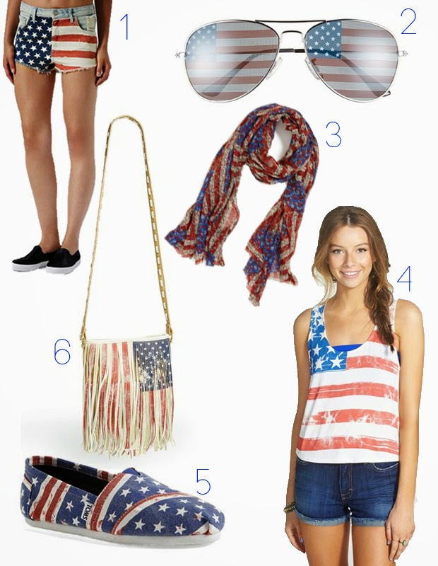 4th of july, flag clothing