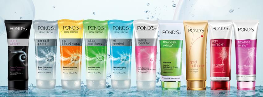 Ponds facewash fs fashionista for Ponds products