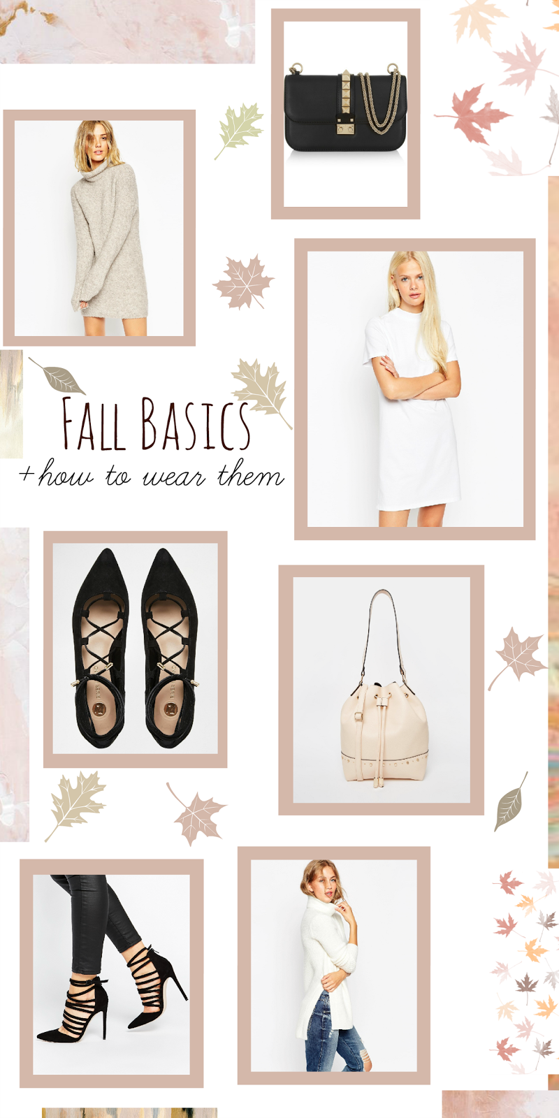 Neutral closet staples for fall
