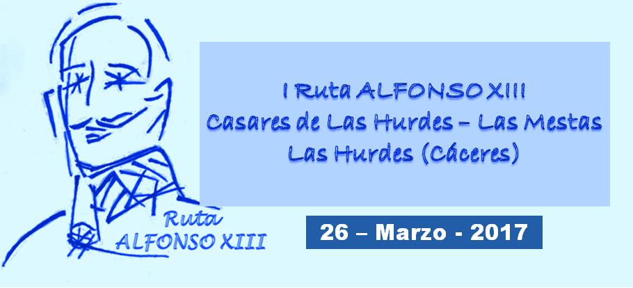 Ruta Alfonso XIII 26-03-2017